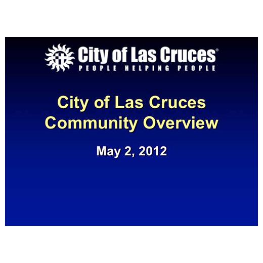 JLUS Partner Briefing City of Las Cruces (PDF)
