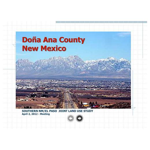 JLUS Partner Briefing Dona Ana County (PDF)