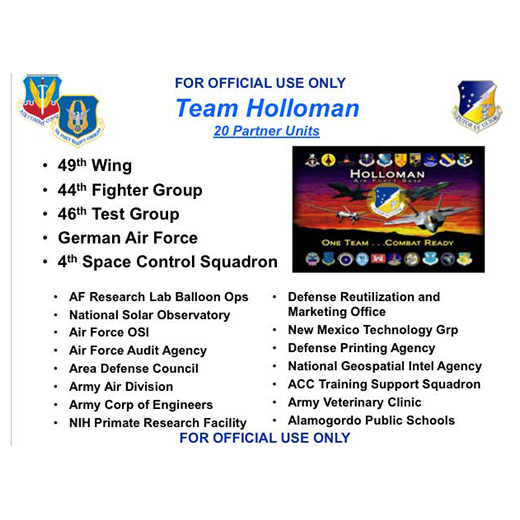 JLUS Partner Briefing Holloman AFB (PDF)
