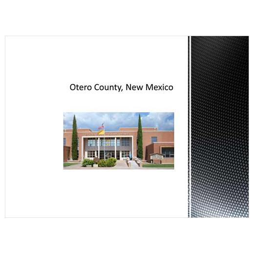 JLUS Partner Briefing Otero County (PDF)
